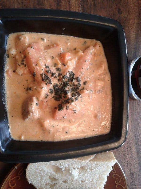fisksoppa campbell tomatsoppa