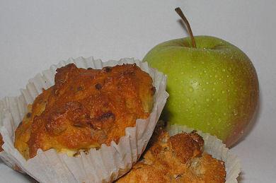 GI-äppel-muffins