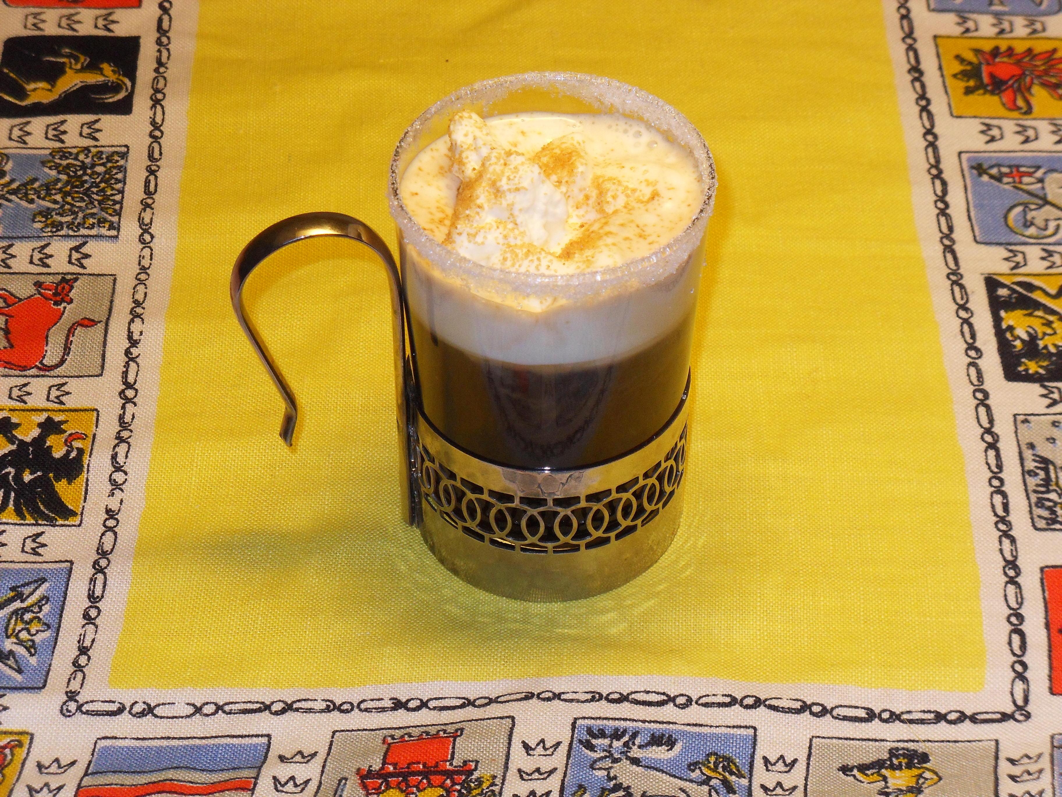 Kaffe med guldk..