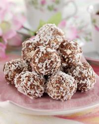 Magra och sockerfria chokladbollar