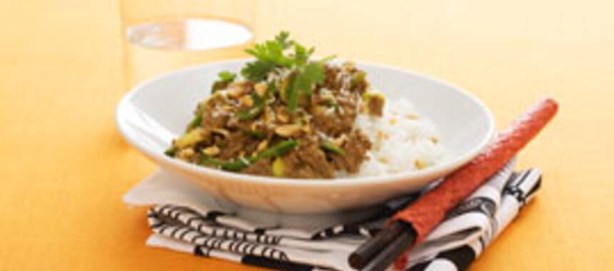 thaigryta med köttfärs