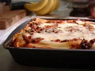Bacon Lasagne