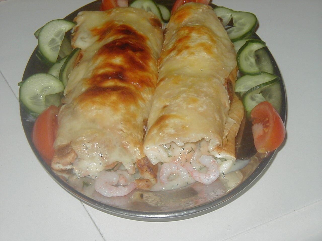 omelett rulle