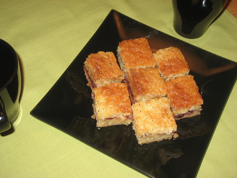 krusbärs kaka i långpanna