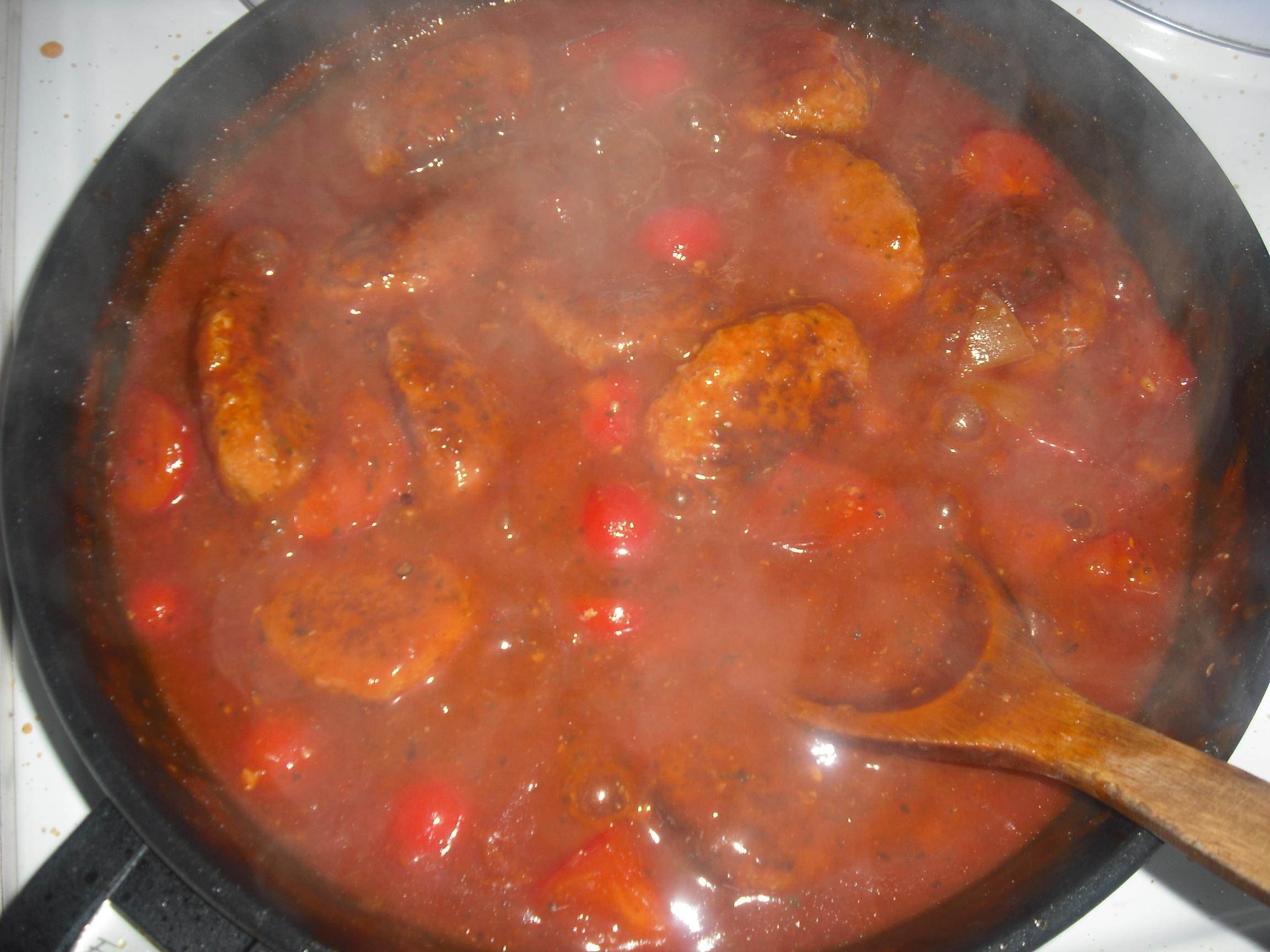 Albondigas en salsa de tomate, spanska köttbullar i tomatsås