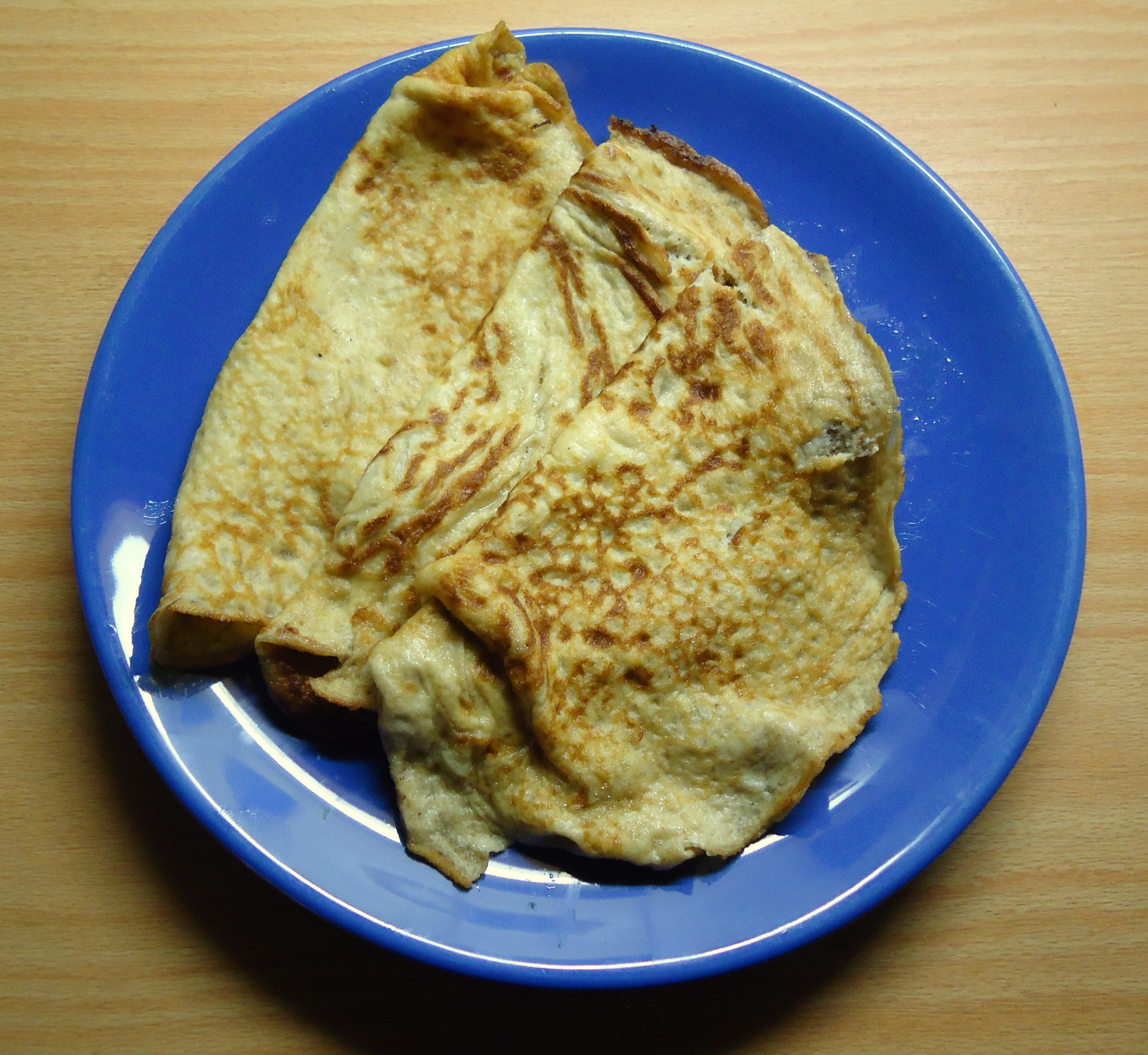 LCHF Crepes / pannkakor