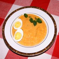 Tobbes krämiga rotfruktssoppa