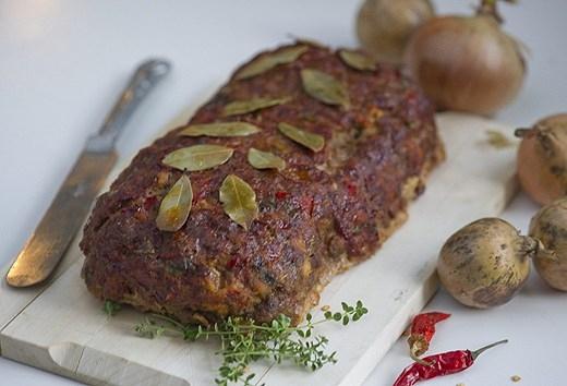 amerikansk köttfärslimpa