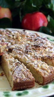kaka äpple pinjenötter