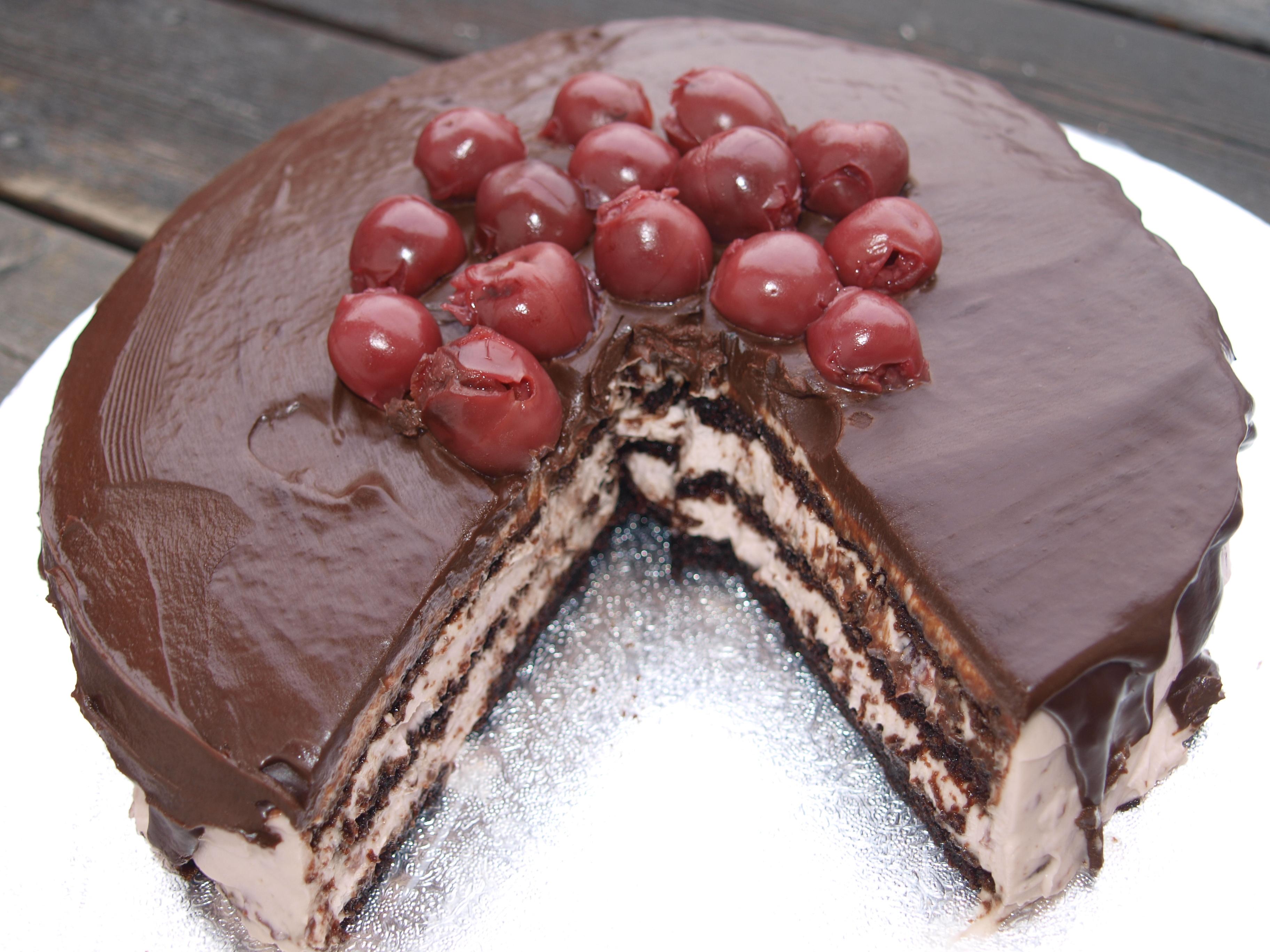 mascarponekräm tårta