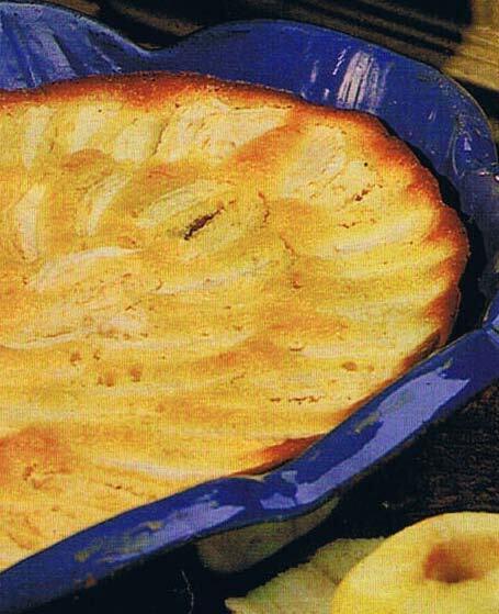 Äppelkaka med m..