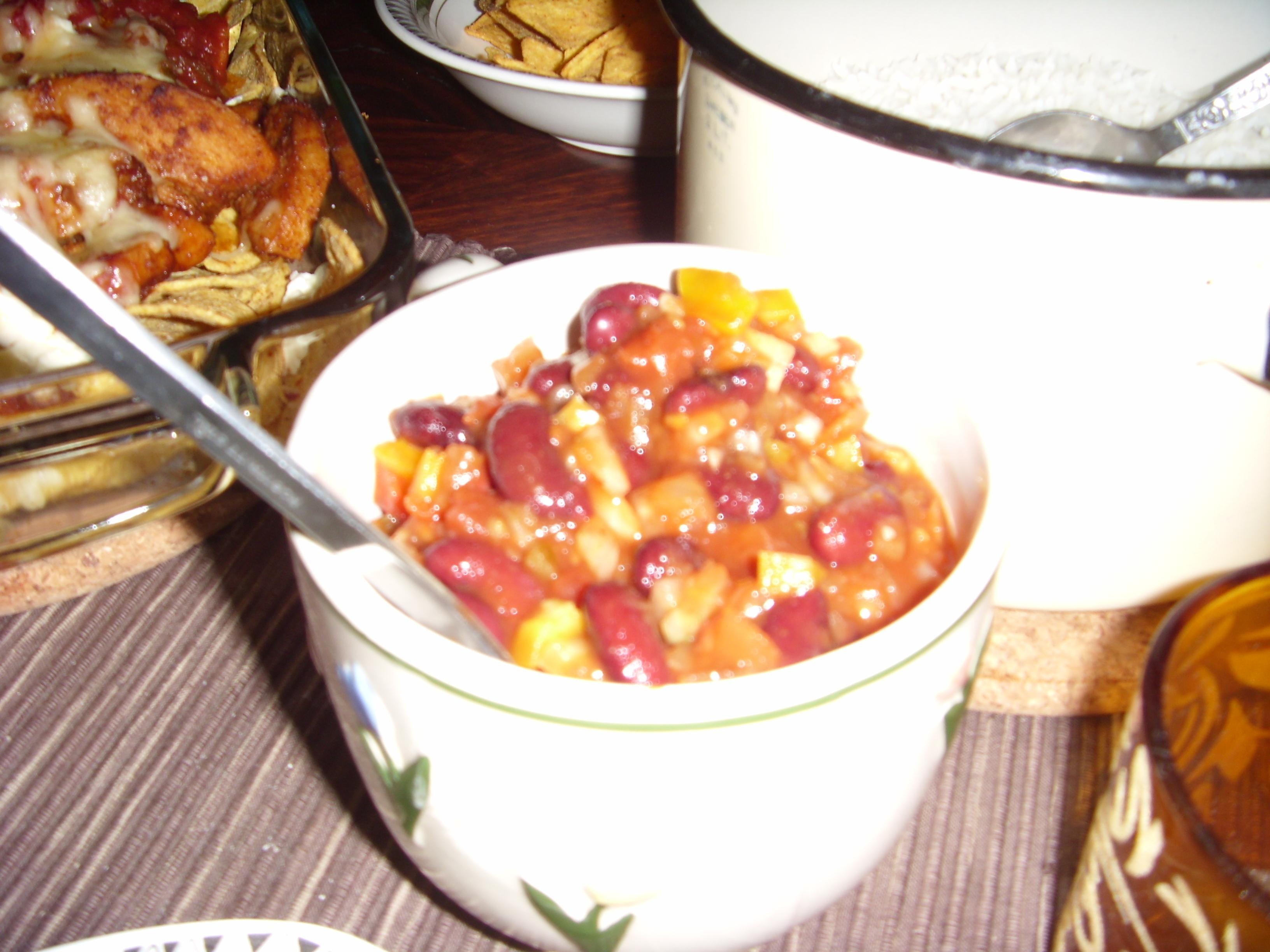 kall salsasås paprika