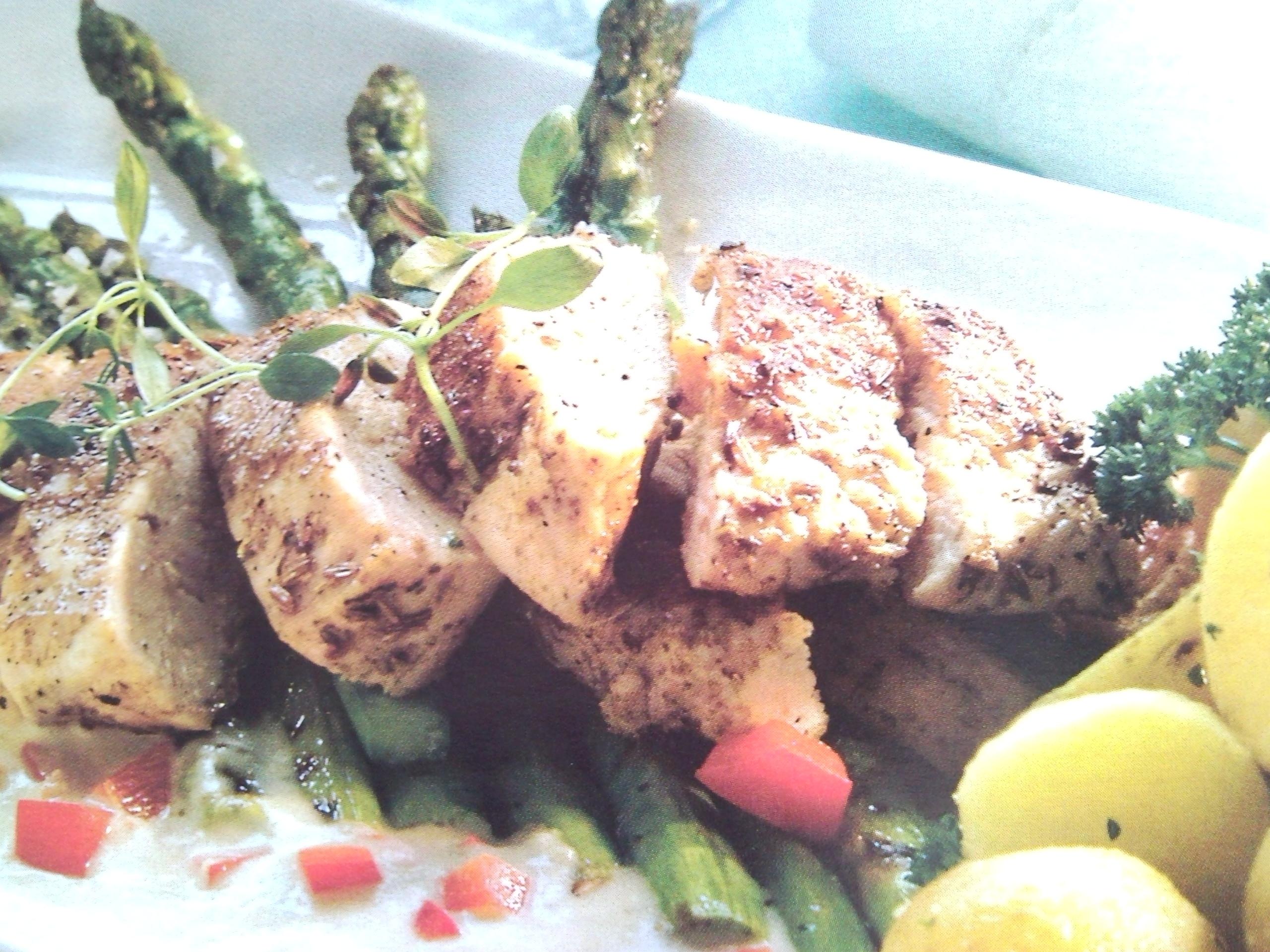 Kyckling med sp..