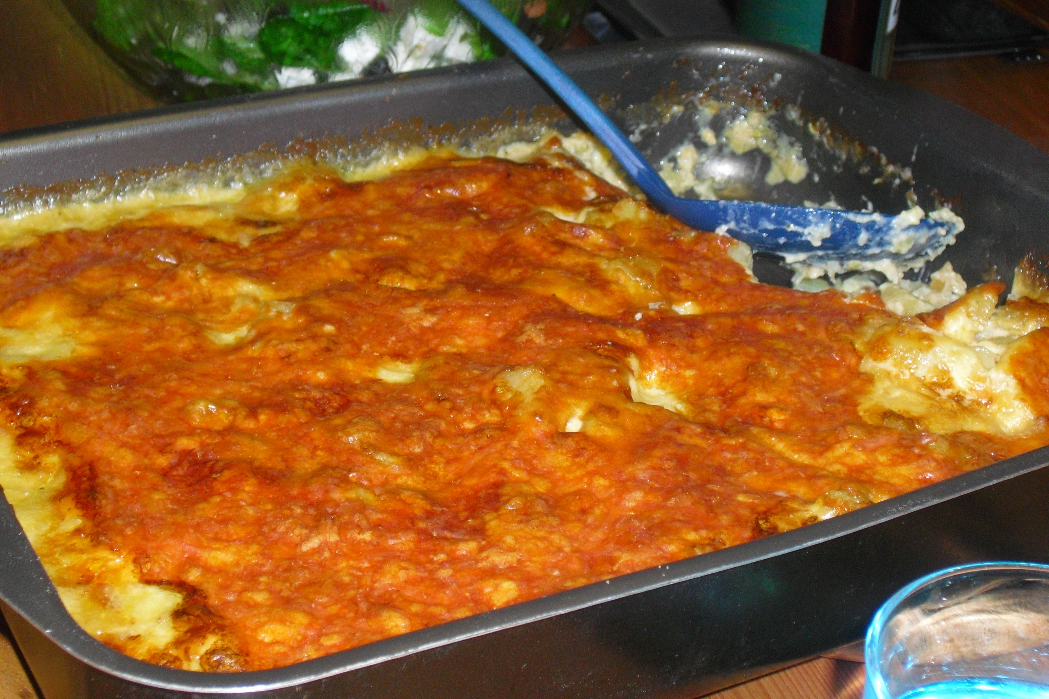 Krämig pastagra