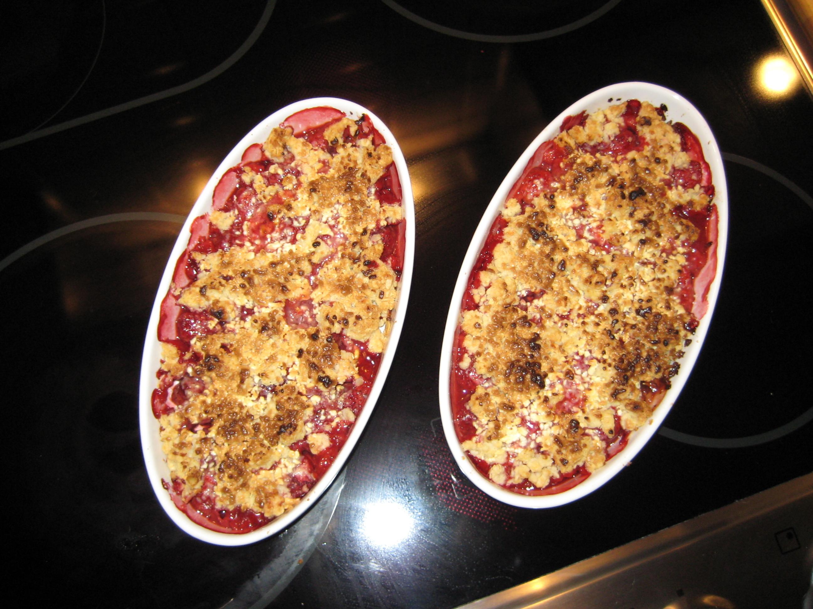 rabarbersoppa jordgubb vanilj