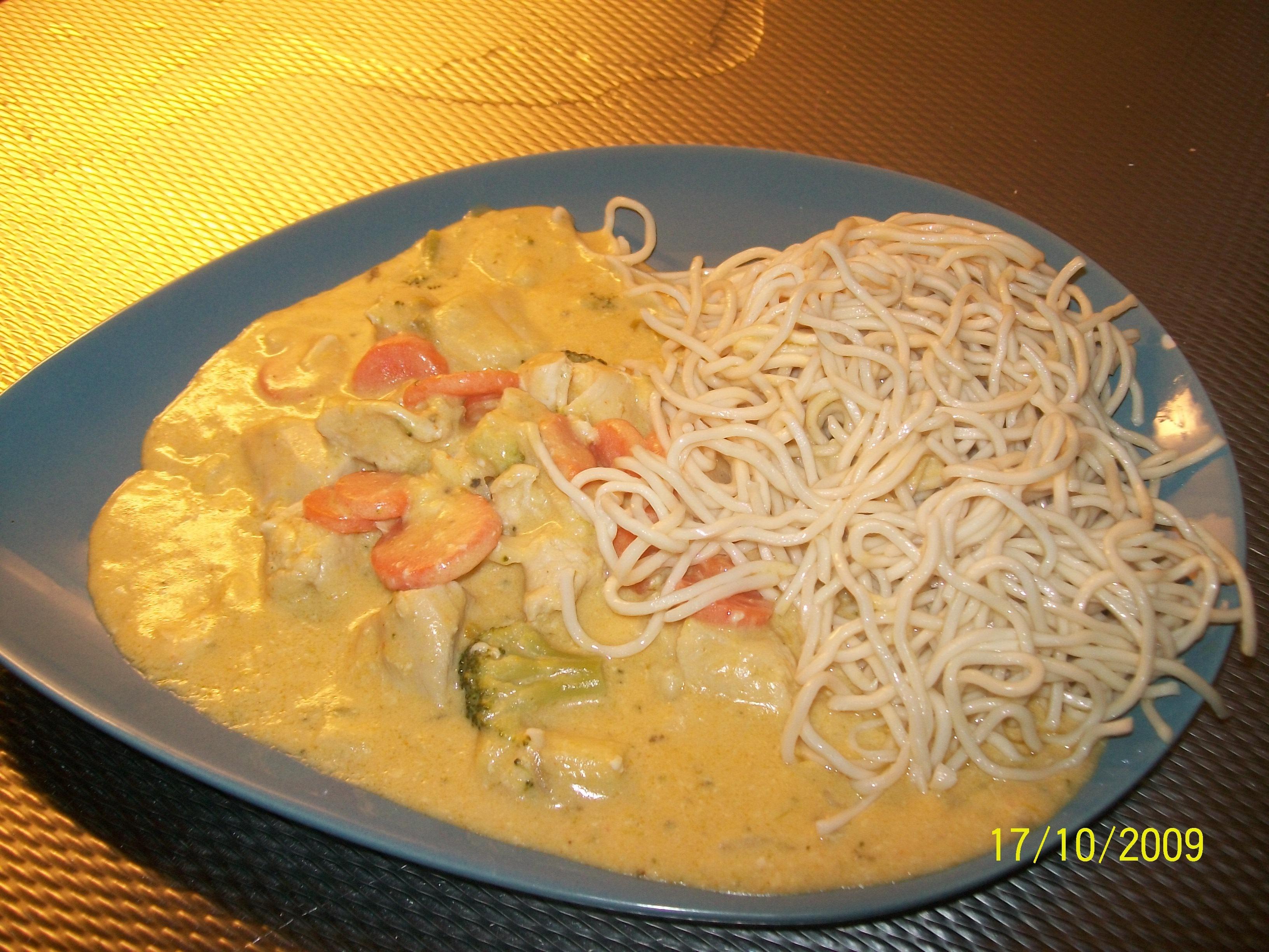 kyckling wokgrönsaker kokosmjölk