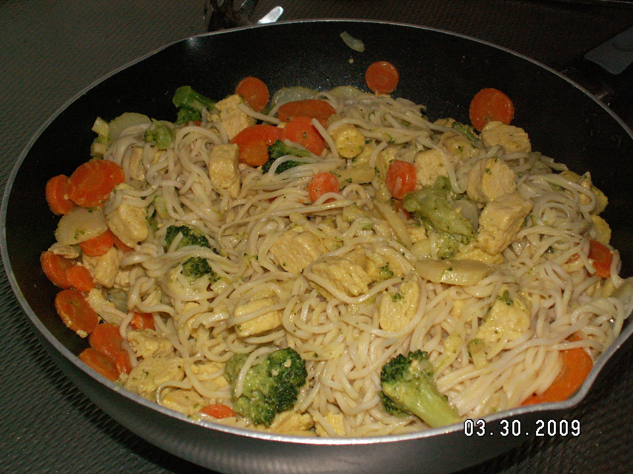 quorn wok kokosmjölk