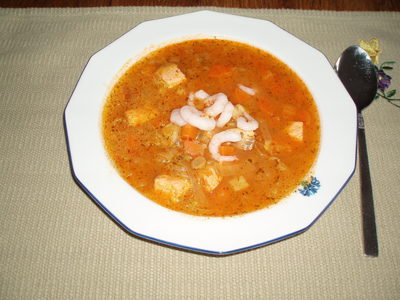 Fisksoppa med svenska smaker