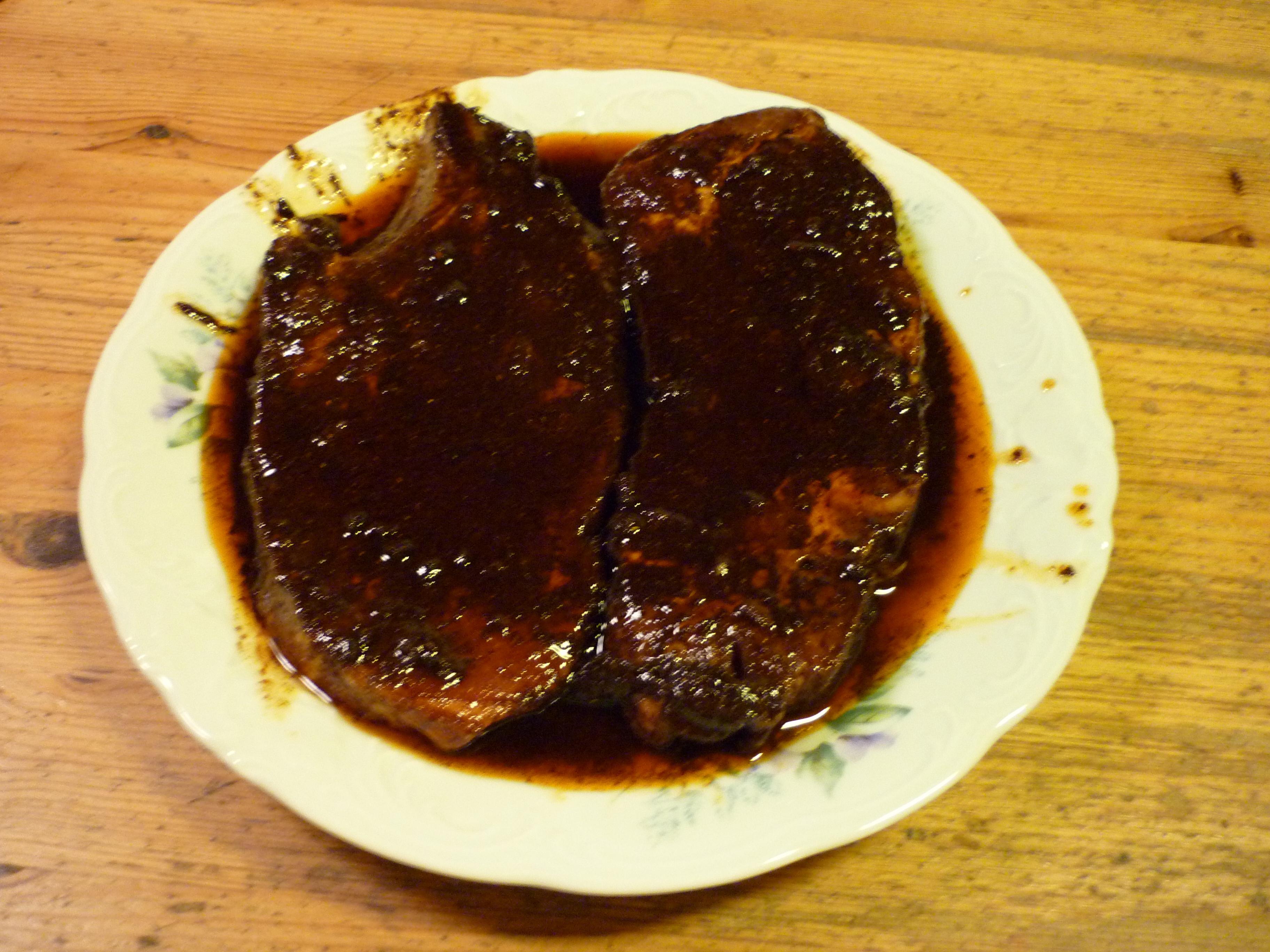 grillmarinad kött