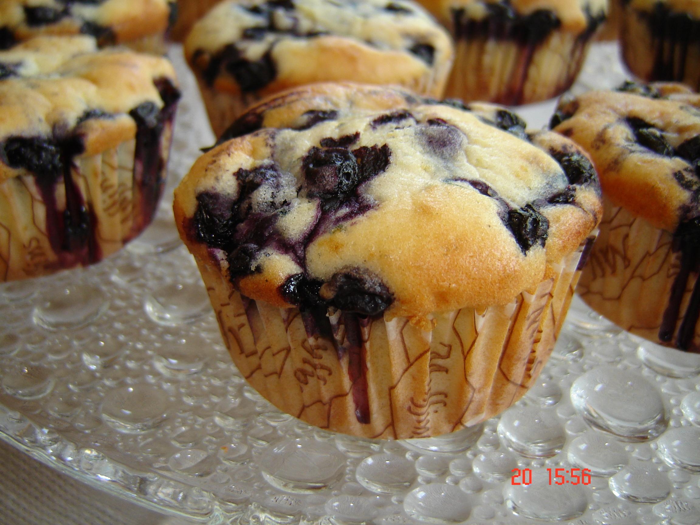 blåbärsmuffins små
