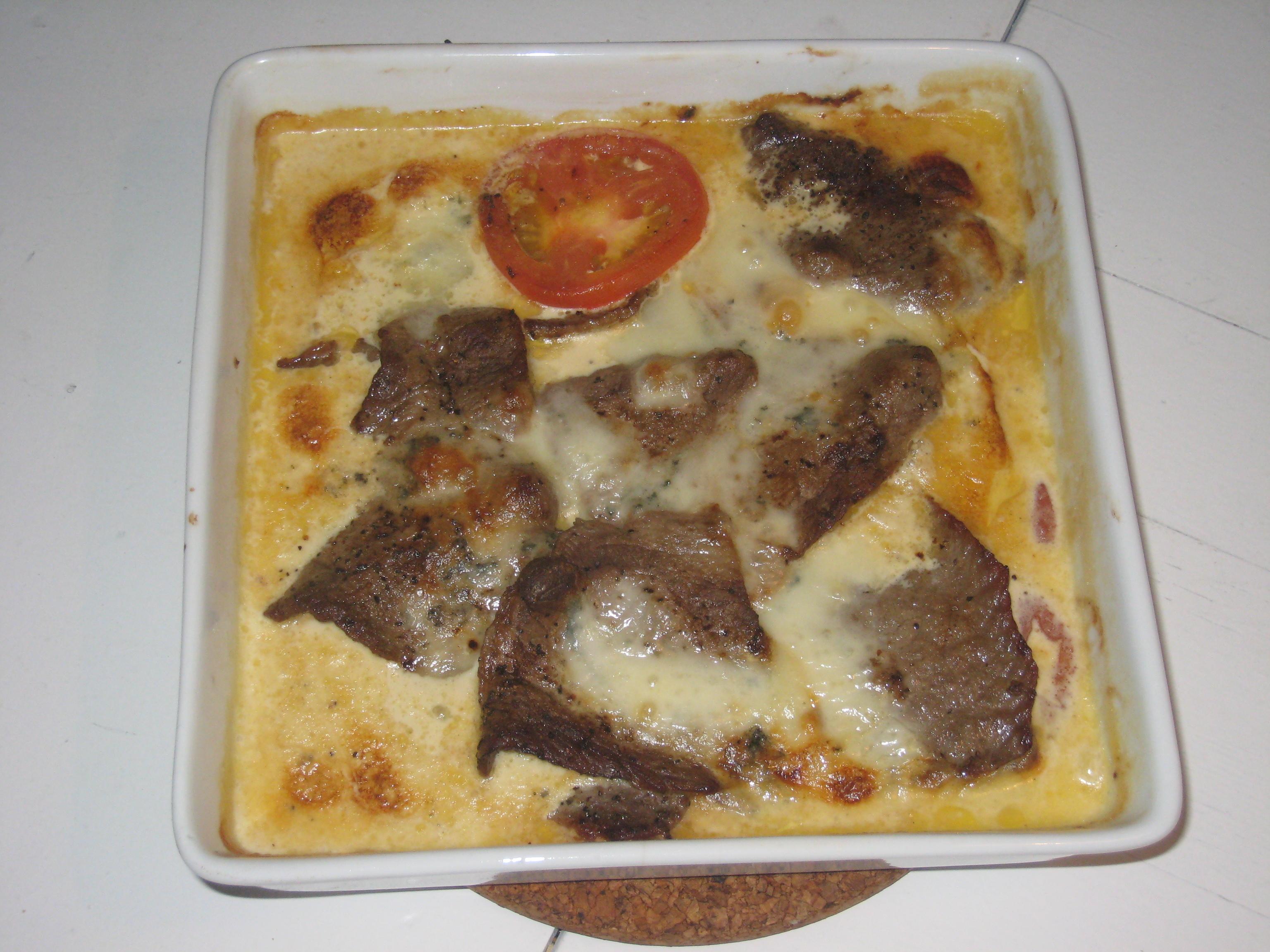 lövbiff gorgonzola