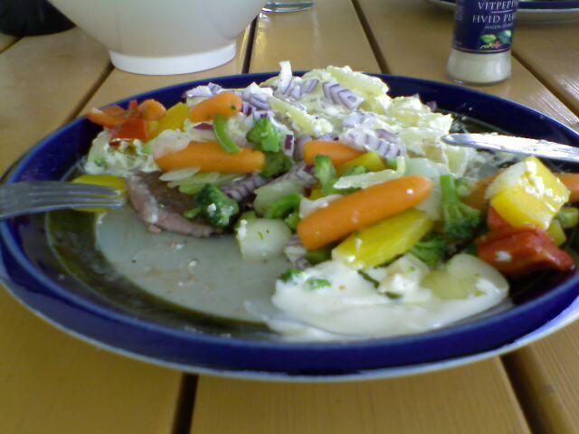 Entrecote med wokgrönsaker