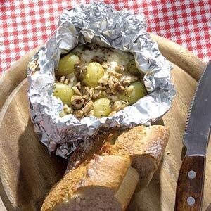 Getost med druvor och valnötter