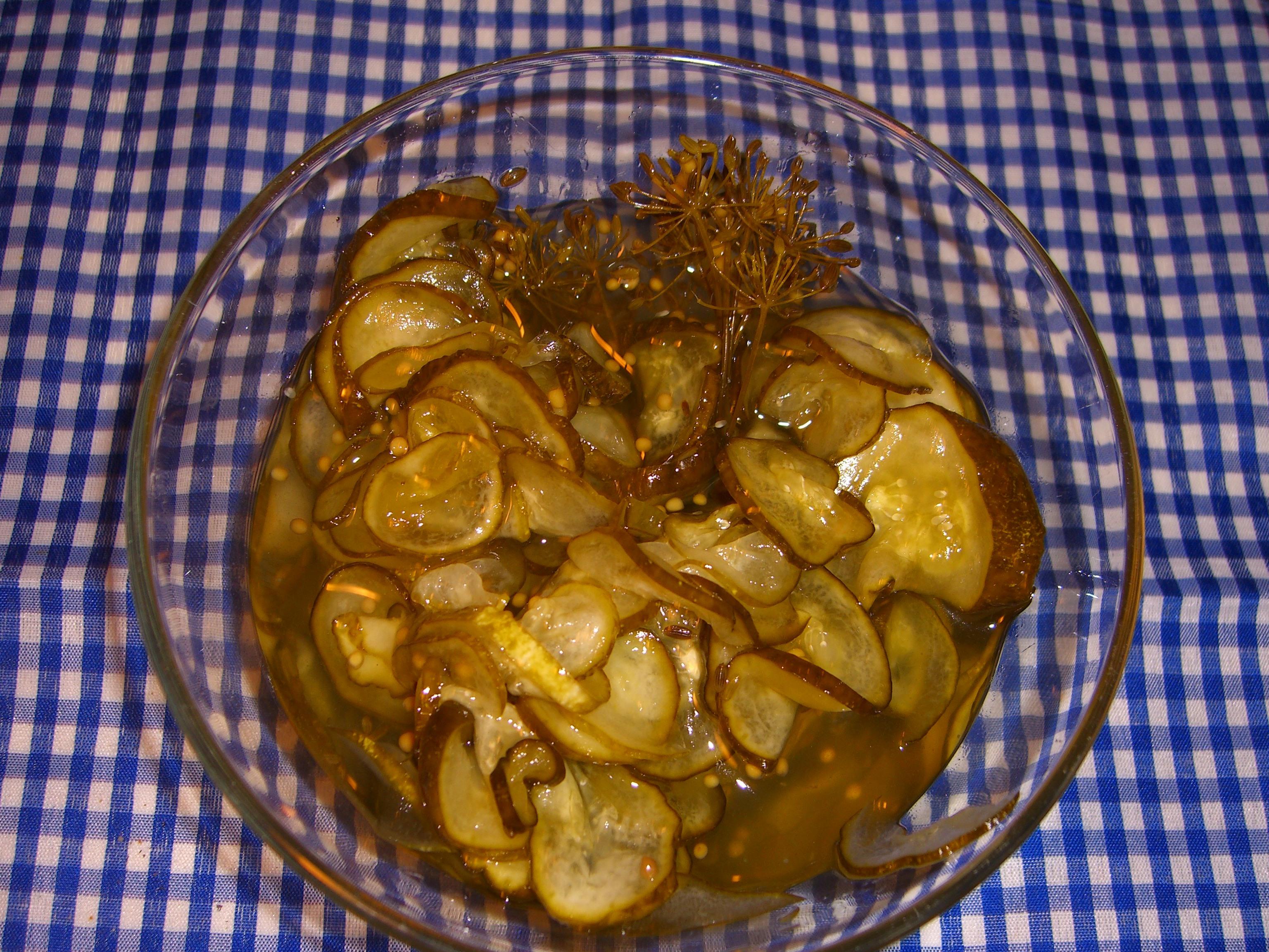 Inlagd gurka - Ej kokt lag