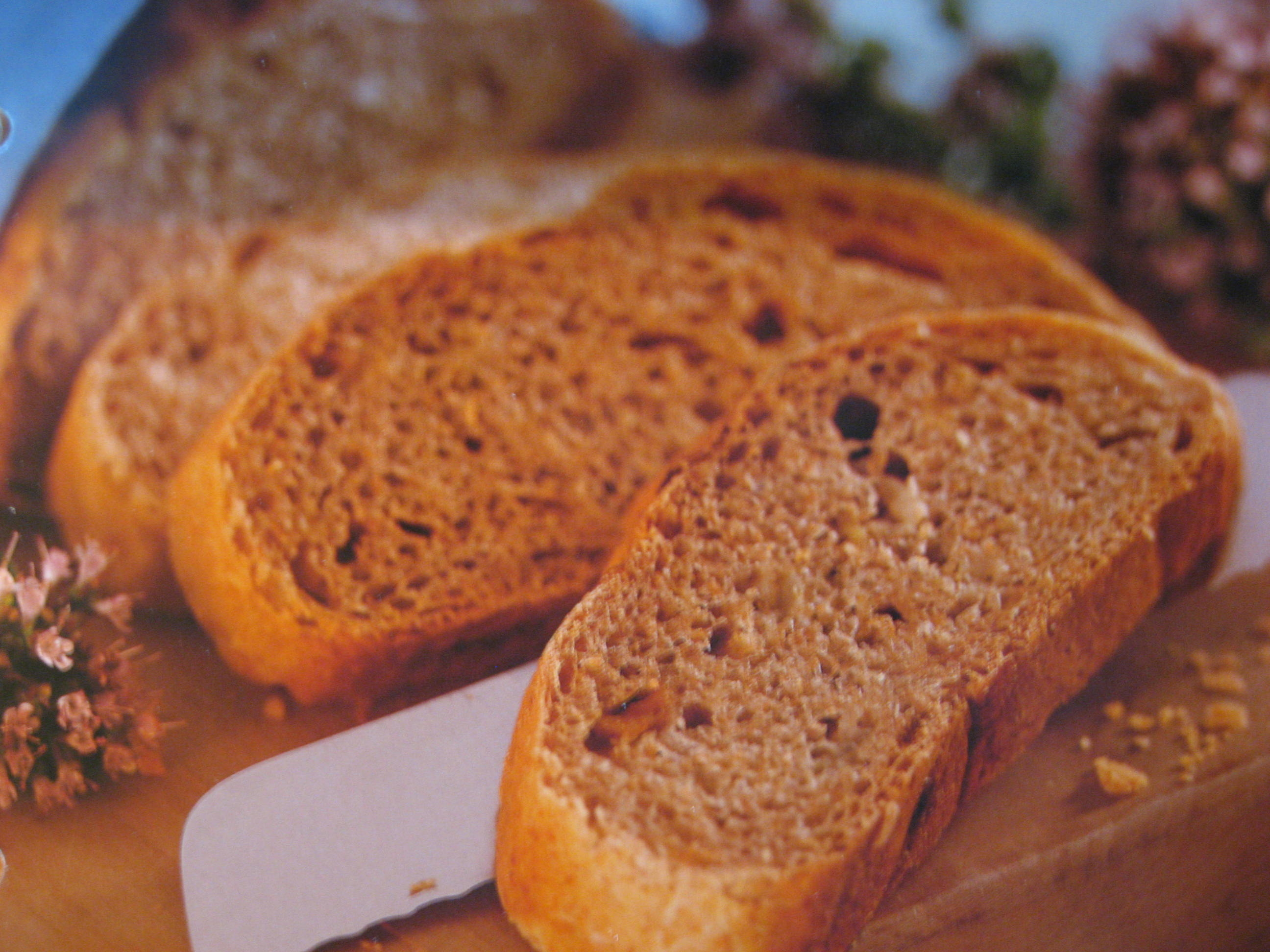 Mustigt rågbröd..