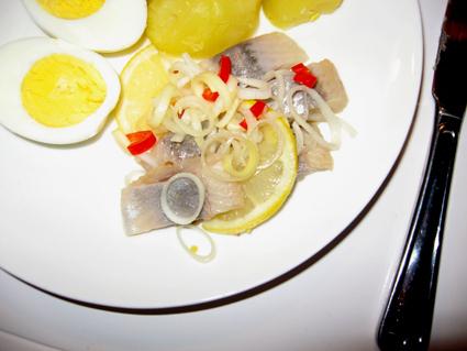Citron- och chilisill