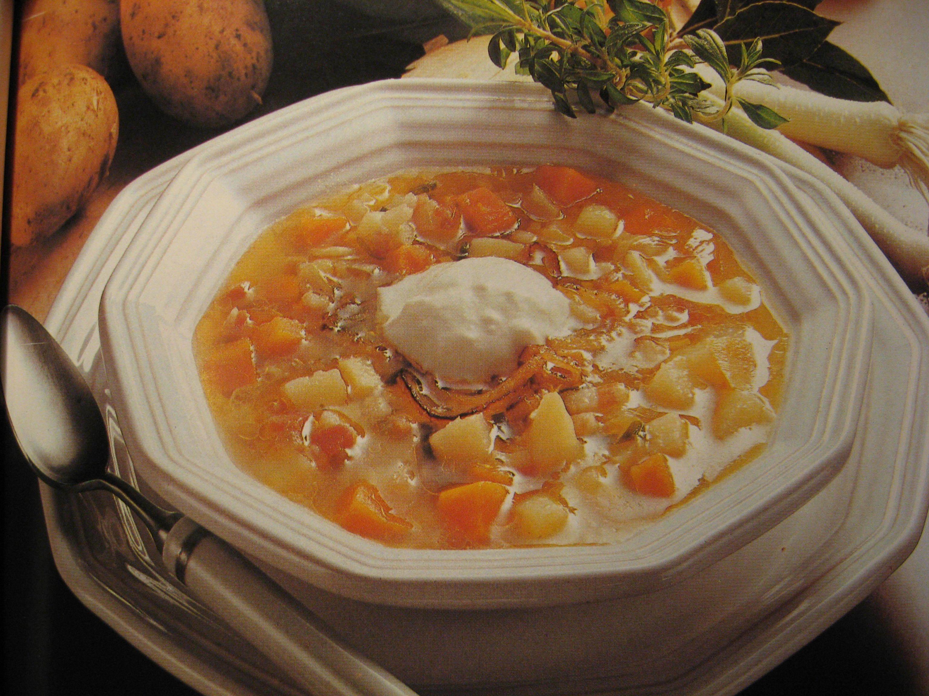 Grynig potatissoppa