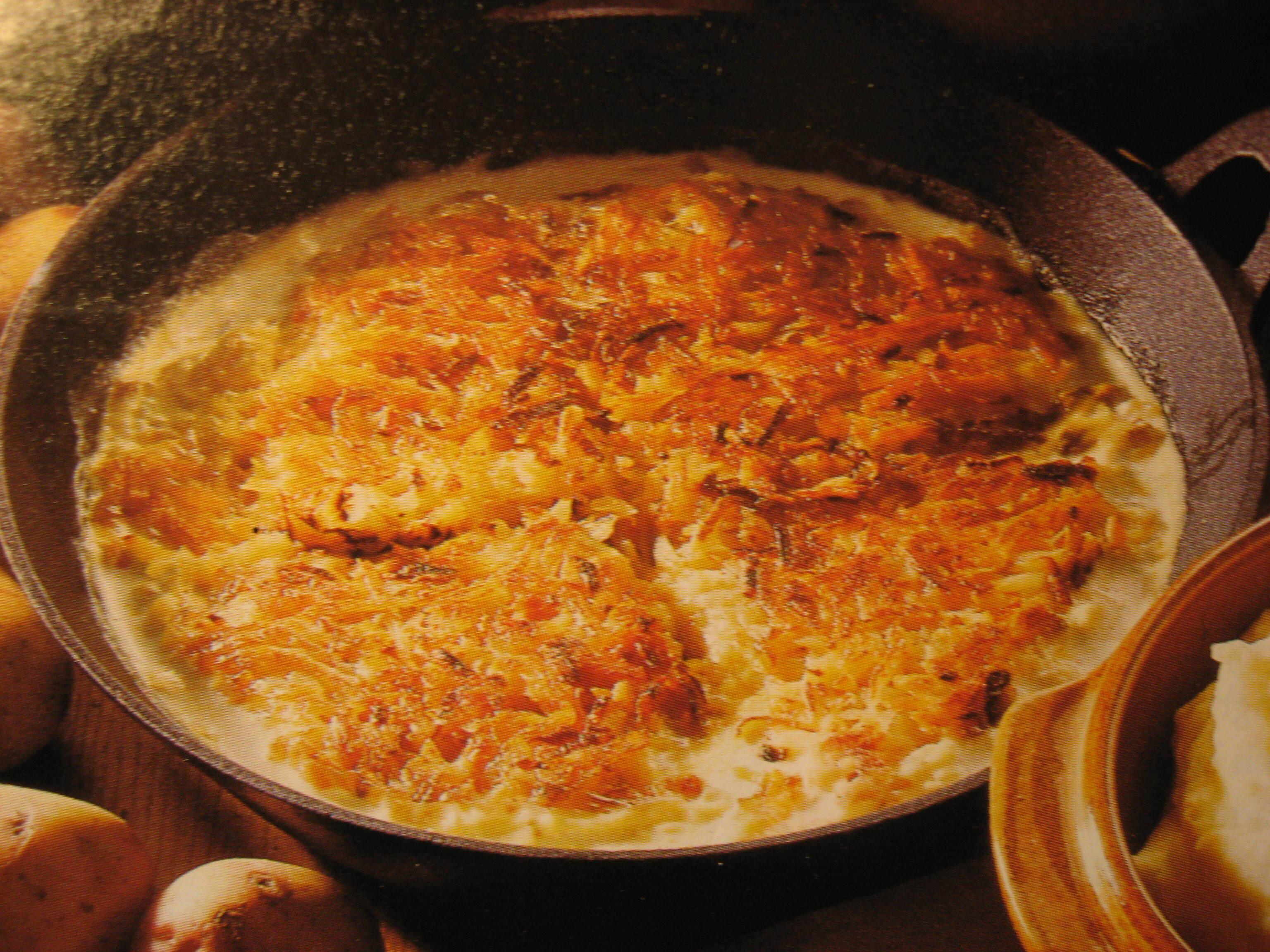 kött som passar till potatisgratäng