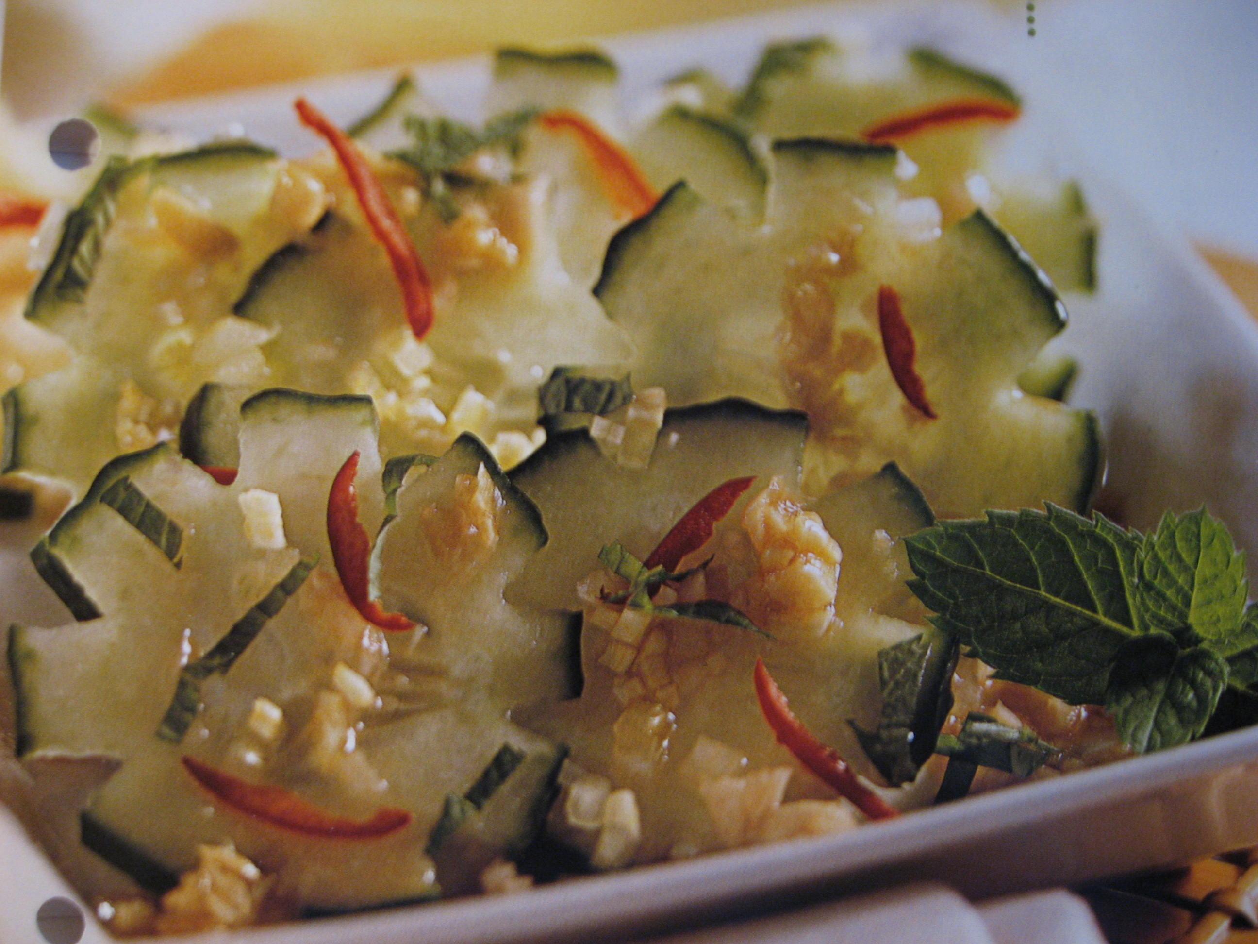 Thailändsk gurk..