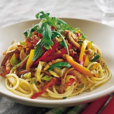 Italiensk wok..