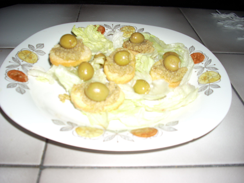 Tomat- och oliv