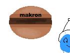 Chokladmacarons med choklad- och kardemummakräm