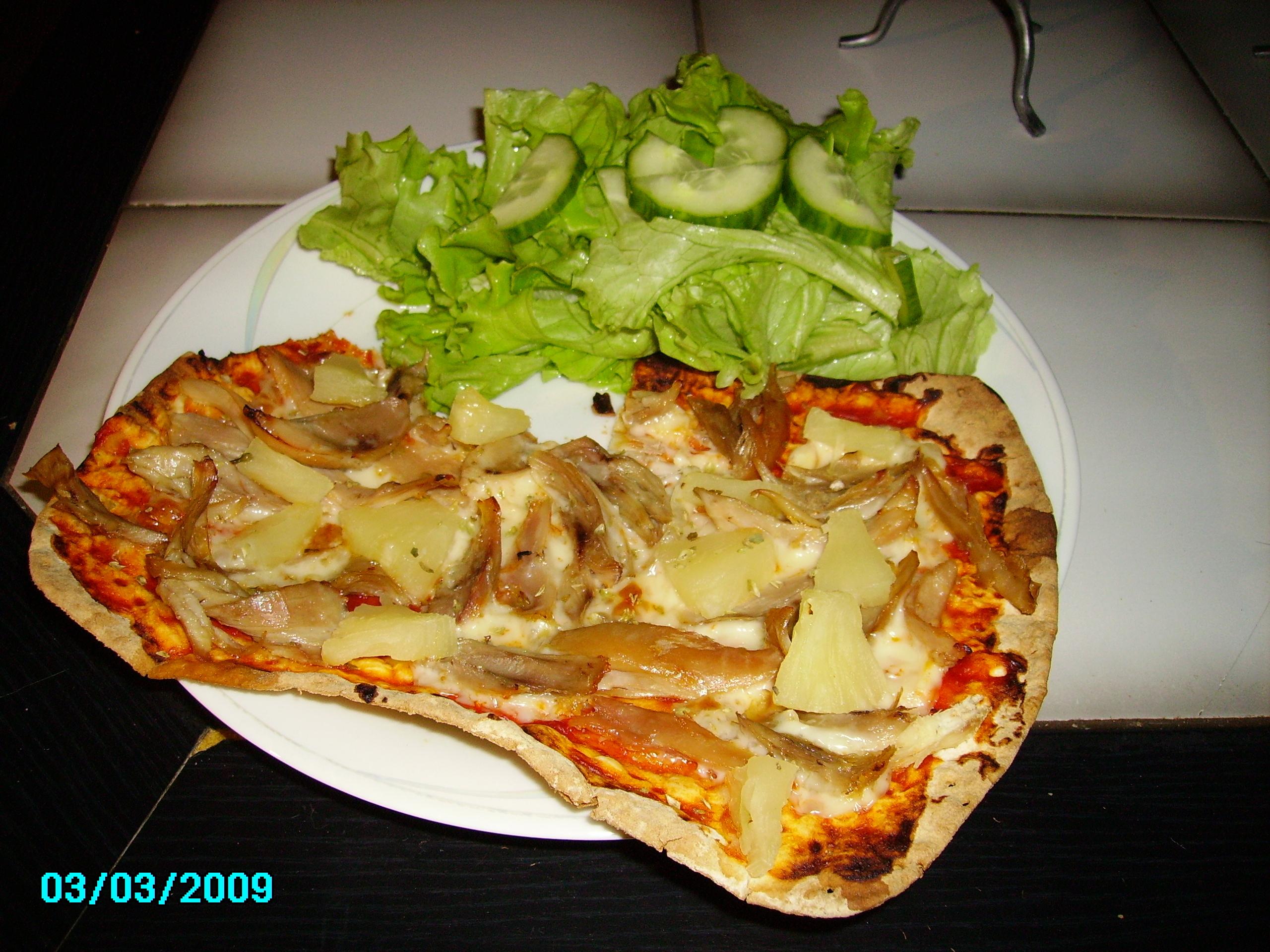 Kycklingpizza, 1 portion,