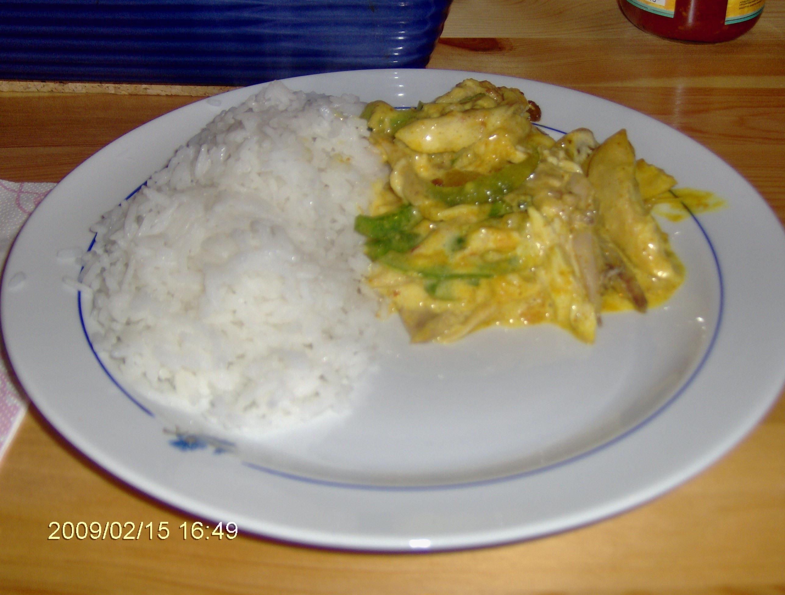 Orientalisk kyckling