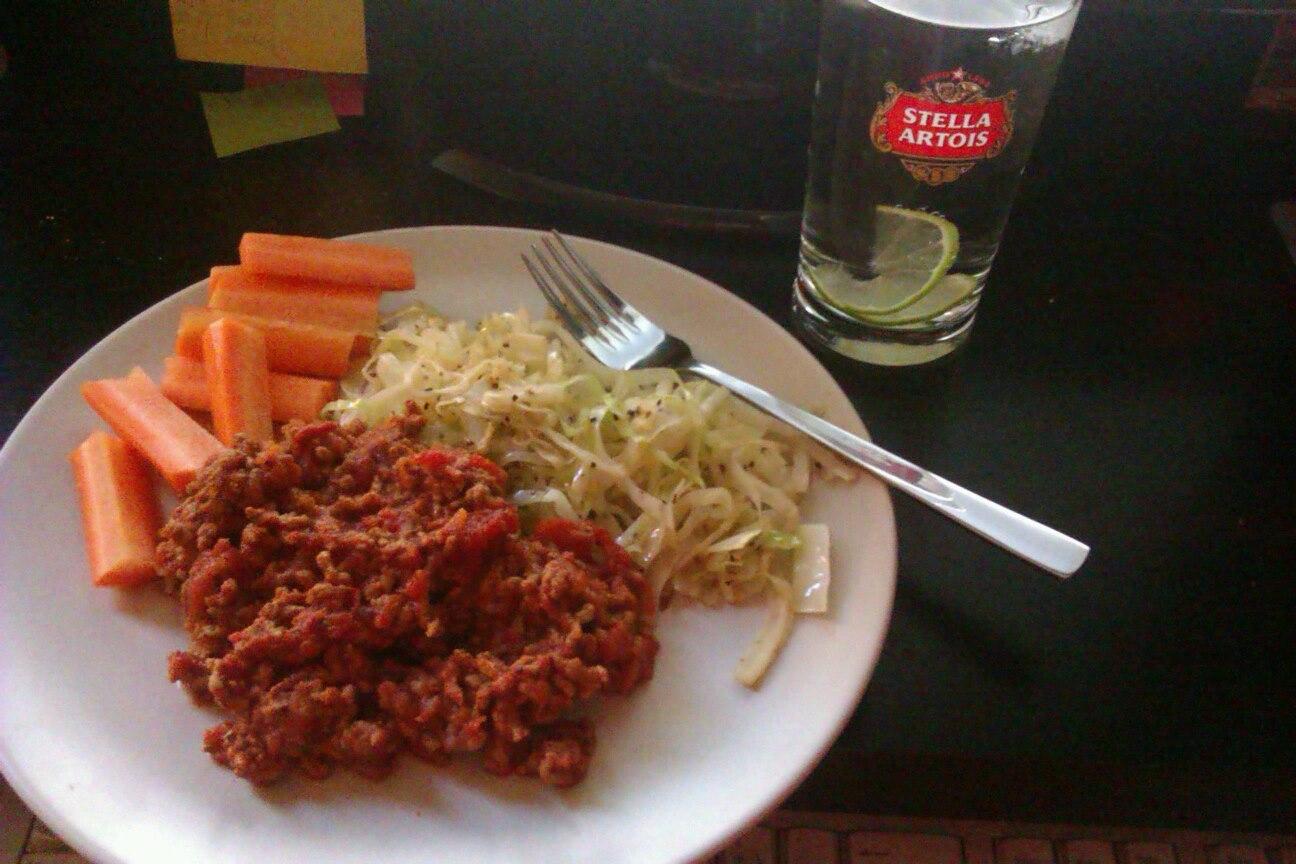 spaghetti köttfärssås