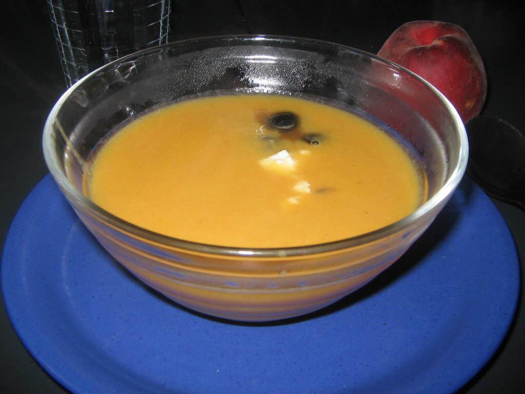 Rostad sötpotatissoppa