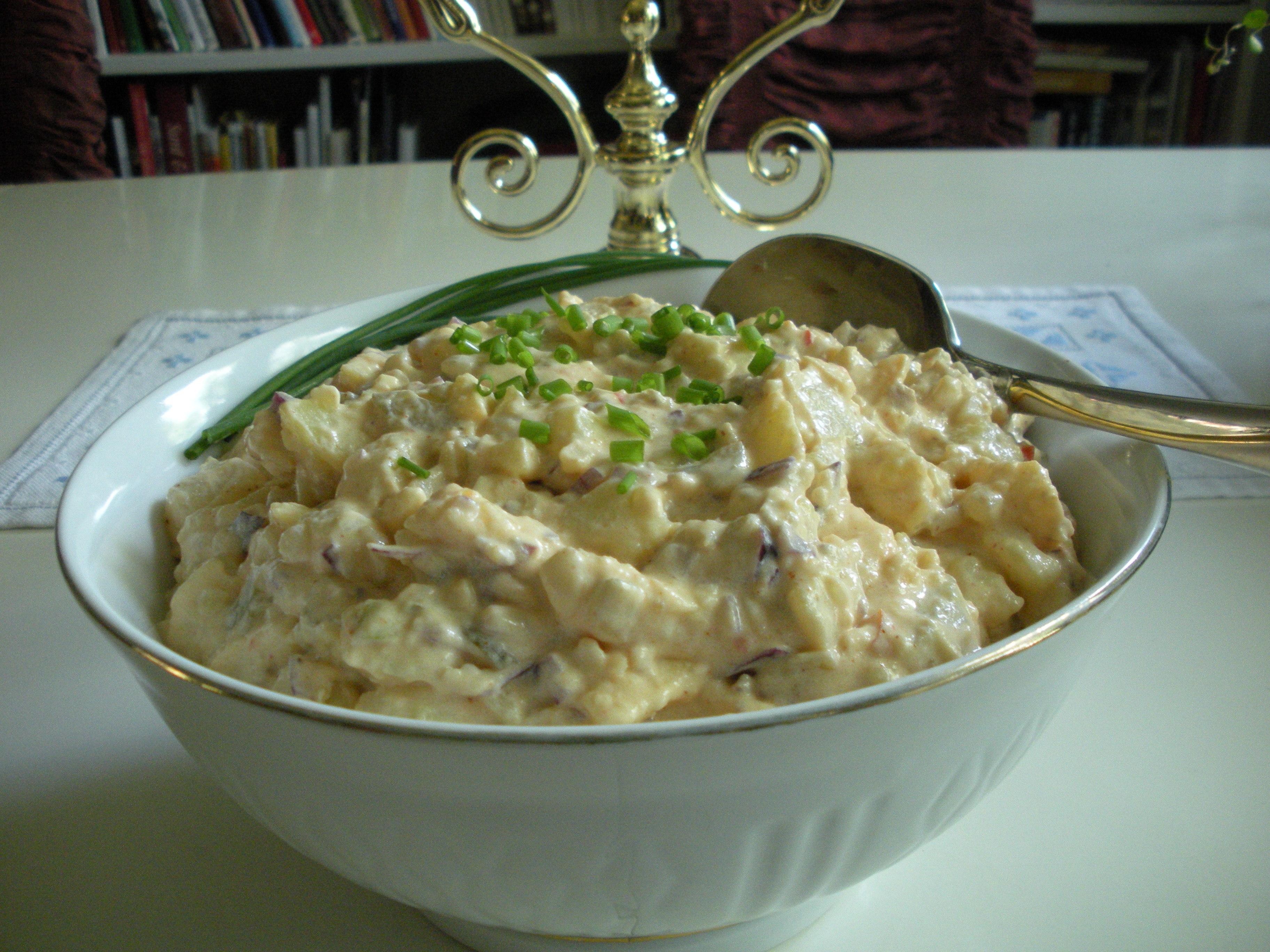 Frisk potatissallad