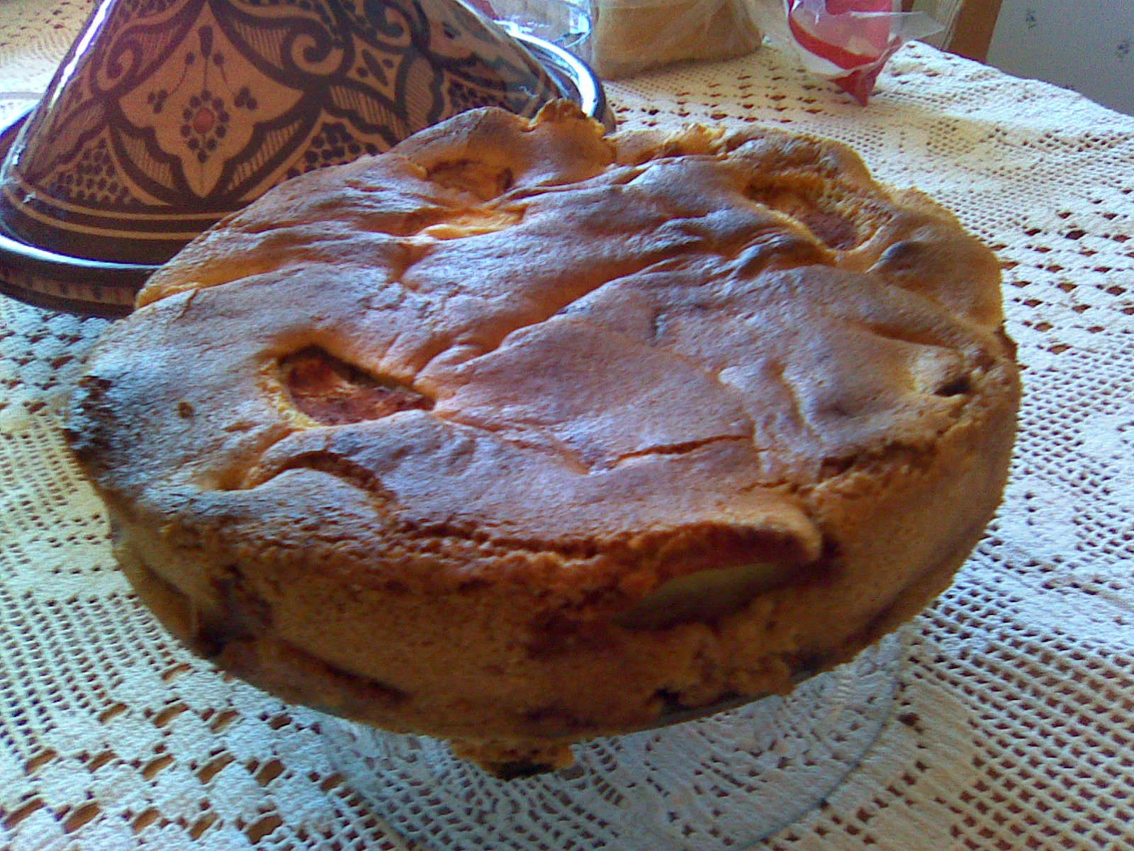 Fias amerikanska äppelkaka