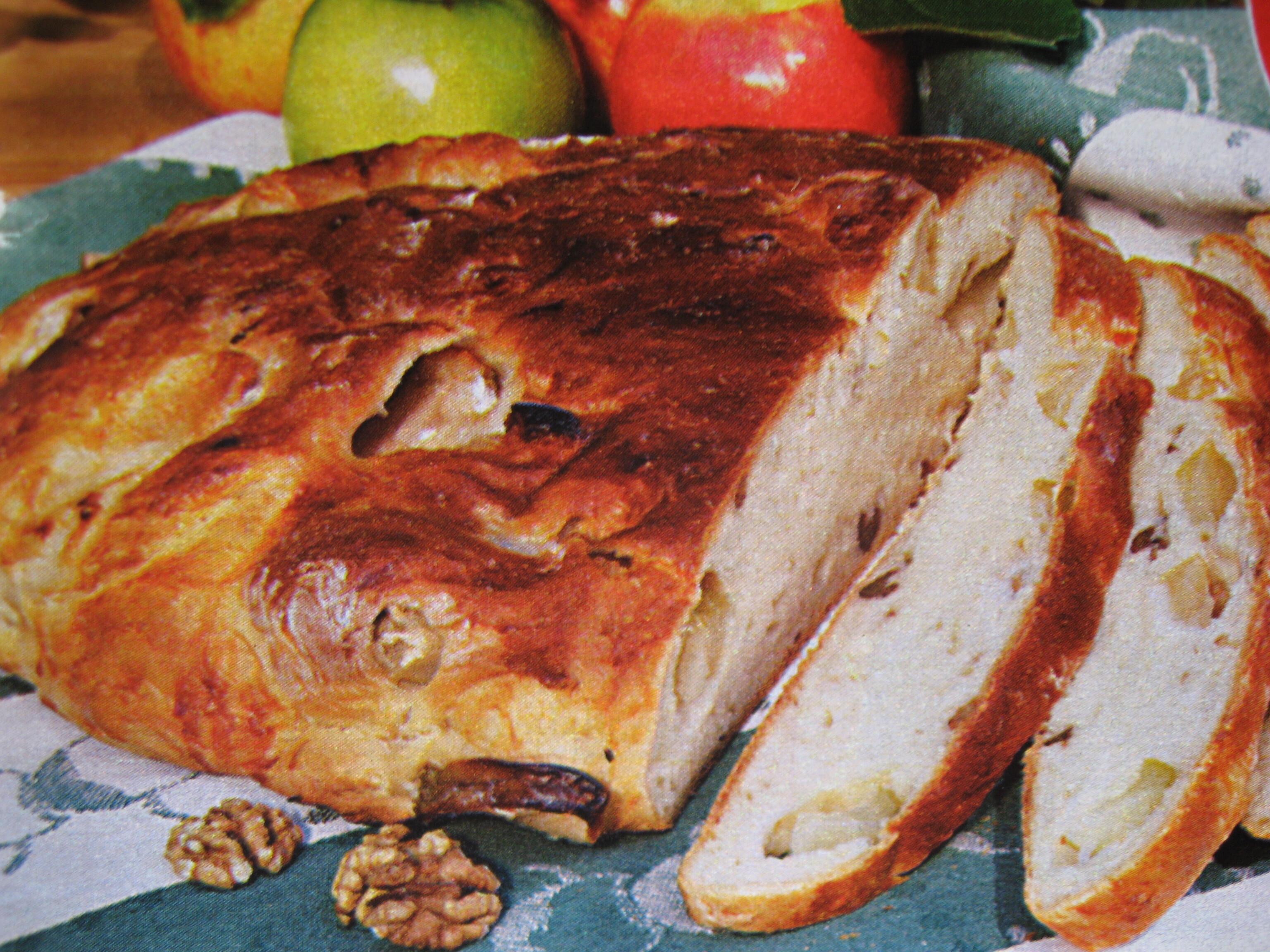 Matbröd med äpp..