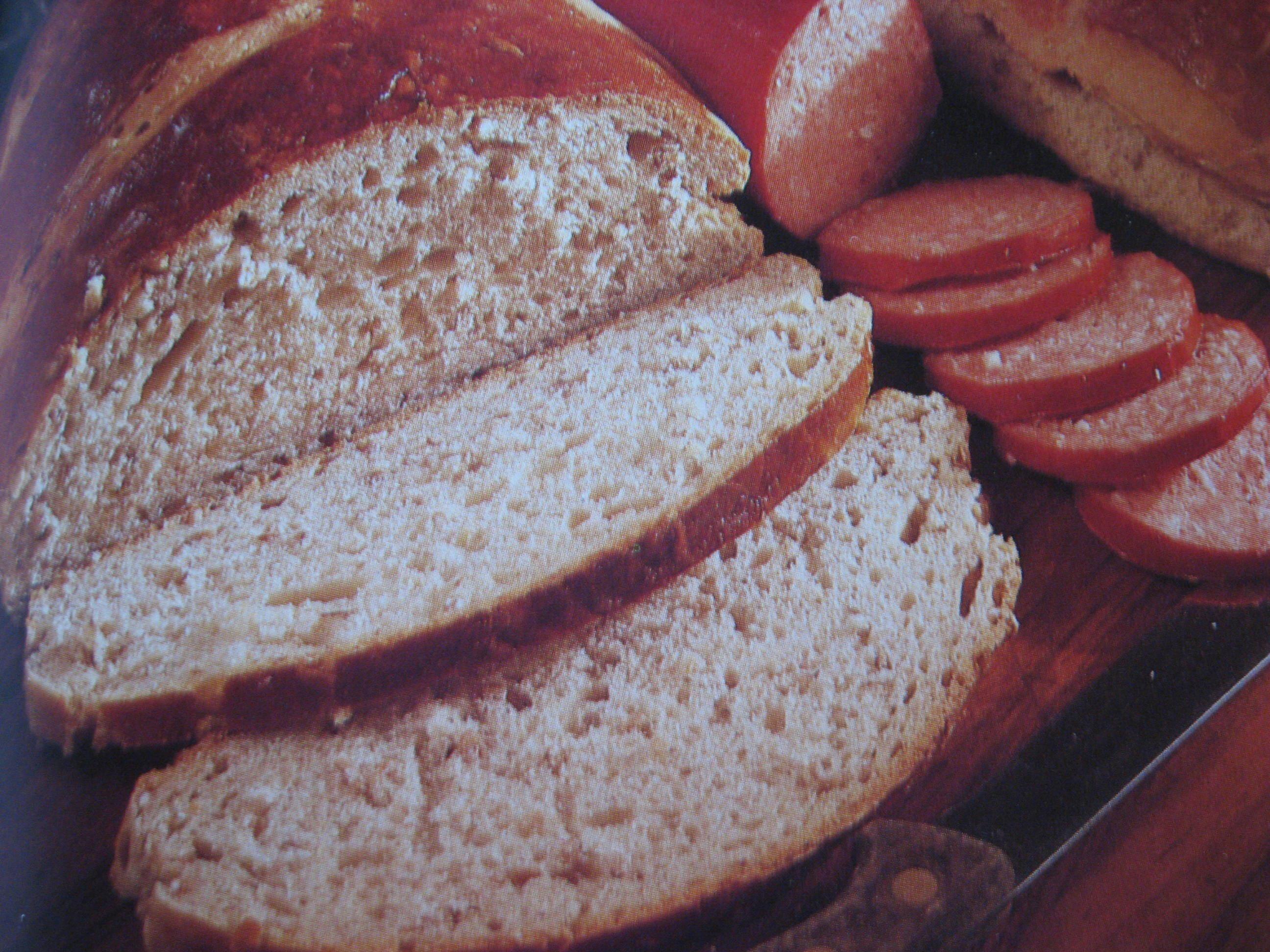 Rågbröd med lin..