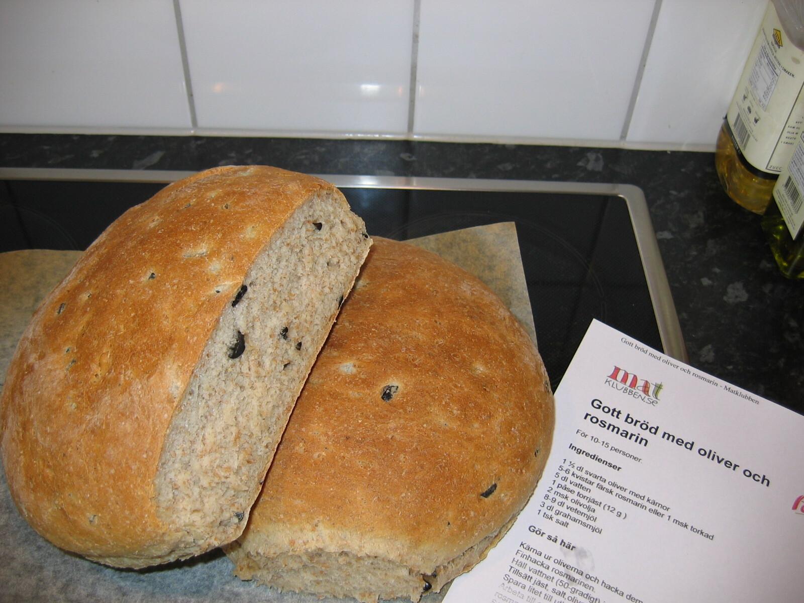 Gott bröd med o..