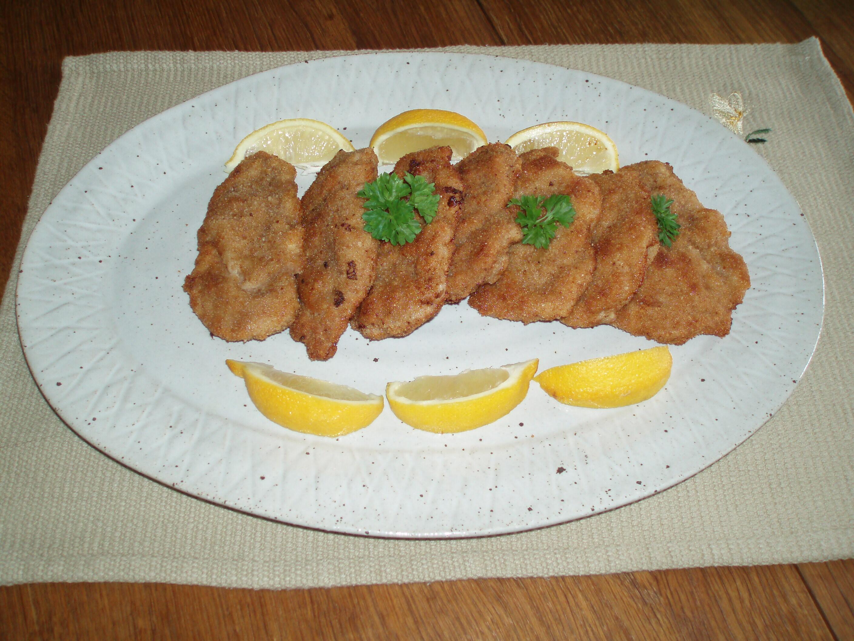 schnitzel av fläskfilé