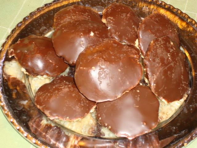 drömgoda chokladbiskvier