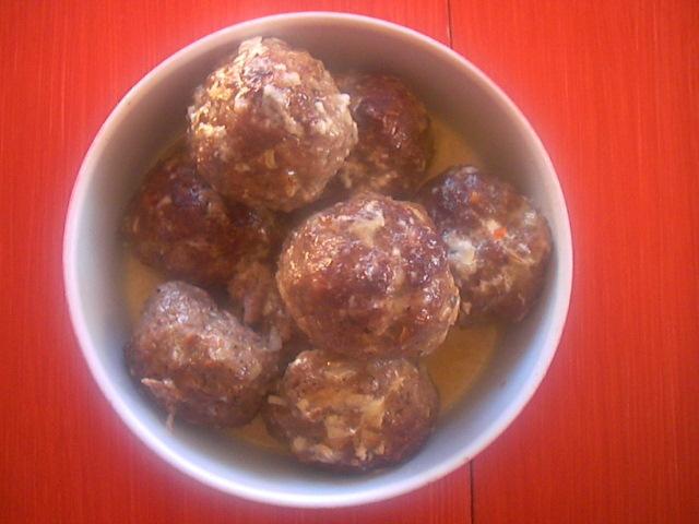 Marias Italienska köttbollar