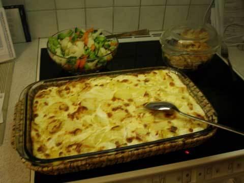 Smal potatisgratäng