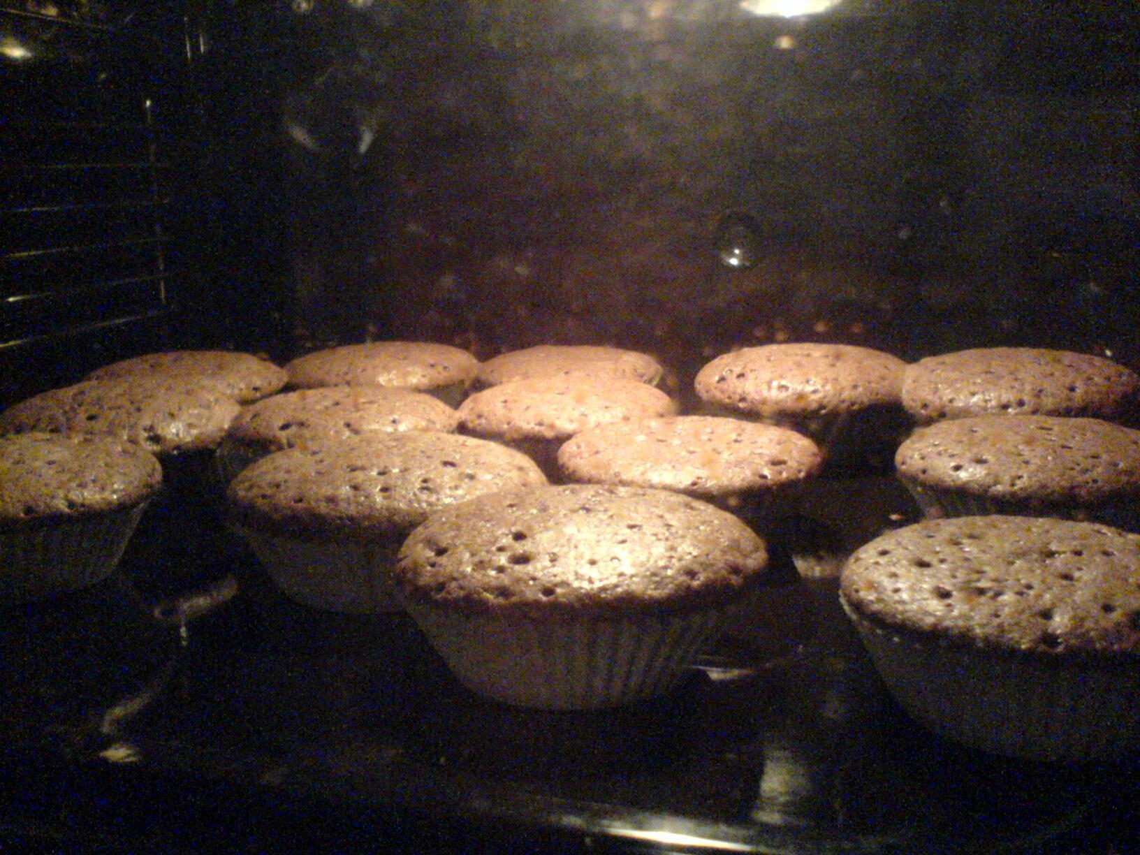 elaka gubbens chokladmuffins